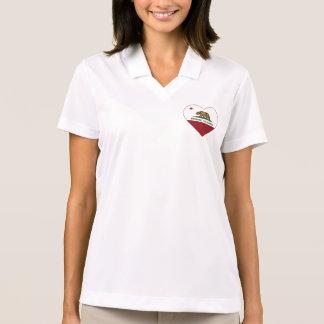 Republik-Herz Brisbanes Kalifornien Polo Shirt