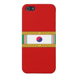 Republik Koreapräsidenteneinheits-Zitat iPhone 5 Case