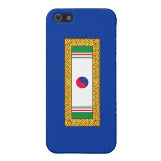 Republik Koreapräsidenteneinheits-Zitat iPhone 5 Schutzhülle