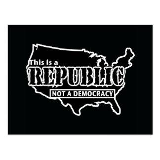 Republik Postkarte