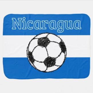 Republik von Fußball Nicaraguas | Kinderwagendecke