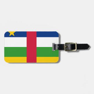 Republik- Zentralafrikaflagge Kofferanhänger