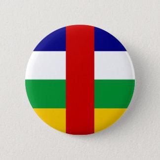 Republik- ZentralafrikaLandesflaggesymbol lang Runder Button 5,1 Cm