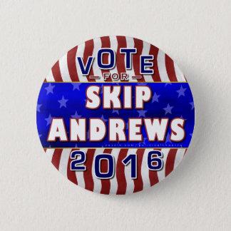 Republikaner 2016 Sprungs-Andrews-Präsidenten-Wahl Runder Button 5,1 Cm