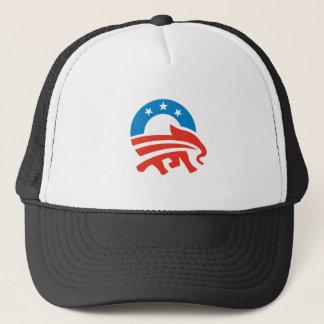 Republikaner für Obama Truckerkappe