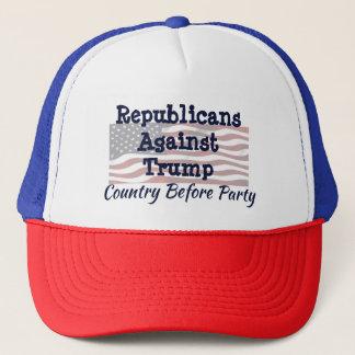 Republikaner gegen Trumpf, Land vor Party Truckerkappe