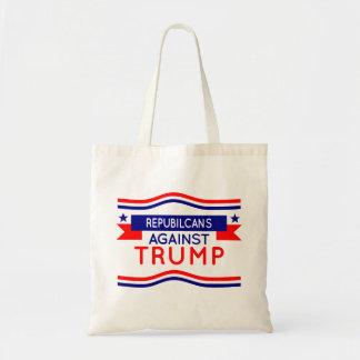 Republikaner gegen Trumpf-Shirt Tragetasche