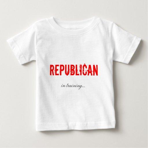 Republikaner im Trainings-Shirt Baby T-shirt