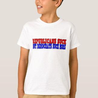 Republikaner sind zum Kotzen, aber Demokraten sind T-Shirt