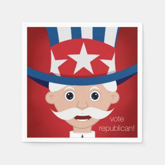 Republikanisch Papierserviette