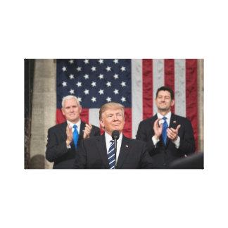 Republikanische Kontrolle der US-Regierung Leinwanddruck