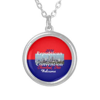 Republikanische Konvention 2016 Versilberte Kette