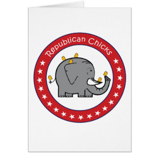 republikanische Küken Karte