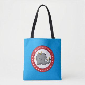 Republikanische Küken-Tasche Tasche