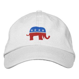 Republikanische patriotische/Wahl-Kappe durch SRF Bestickte Kappe
