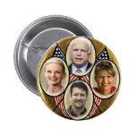 Republikanischer Familie Quadragate 3-Inch Knopf Runder Button 5,7 Cm