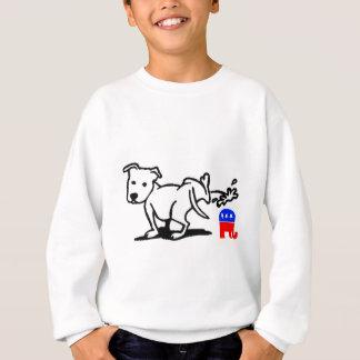 Republikanischer Hund Sweatshirt