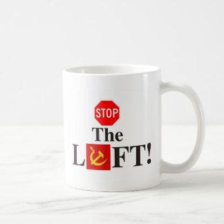 republikanischer konservativer Halt das links Logo Kaffeetasse