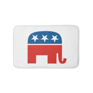 republikanischer Partyelefant des USA Badematten