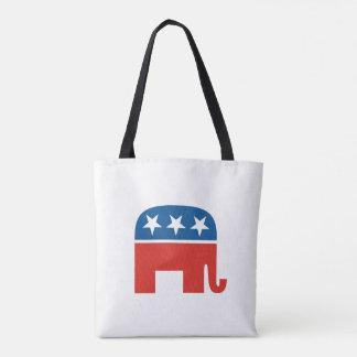 republikanischer Partyelefant des USA Tasche