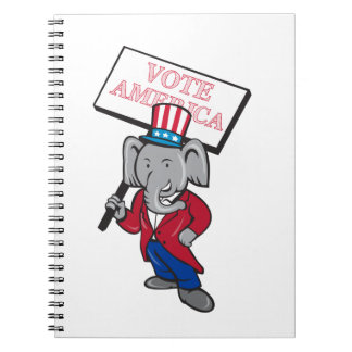 Republikanischer Spiral Notizblock
