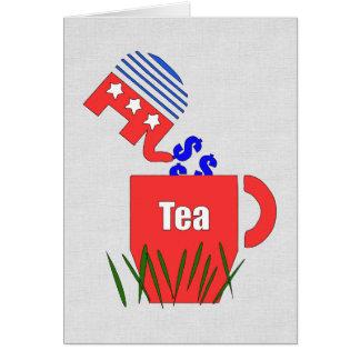 Republikanischer Tee Karte