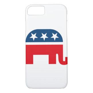Republikanisches Elefant-Logo iPhone 8/7 Hülle