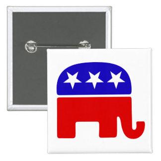 Republikanisches Logo Anstecknadel