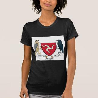 Republikanisches Wappen Isle of Mans - Manx Emblem T-Shirt