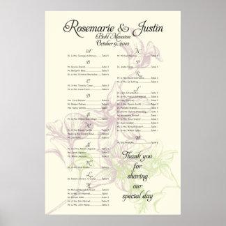*** RESERVIERTES *** für Rosemarie+Justin Poster