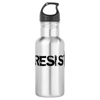 #RESIST Edelstahl-Kantine - schwarzer Text Edelstahlflasche