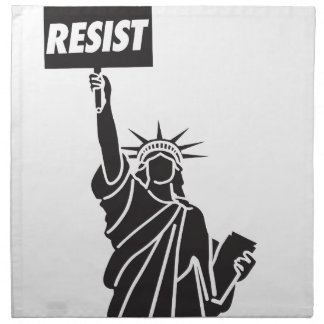 Resist_for_Liberty Stoffserviette