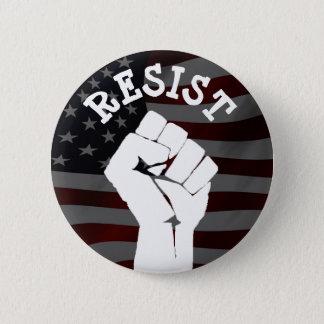 #Resist Protestierender-Faust Anti-Trumpf Runder Button 5,1 Cm