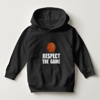 Respekt-Basketball Hoodie