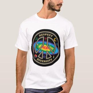 Respekt-Diversityt-stück T-Shirt