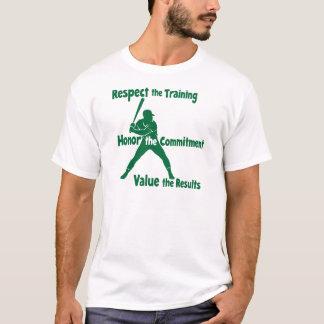 Respekt-Ehre-Wert Baseball T-Shirt