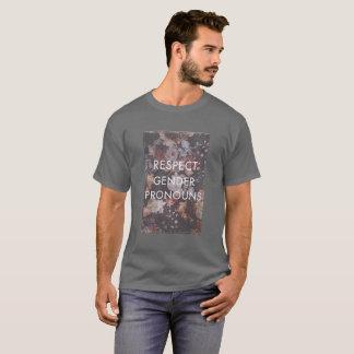 Respekt-Geschlechts-Pronomen-Shirt T-Shirt