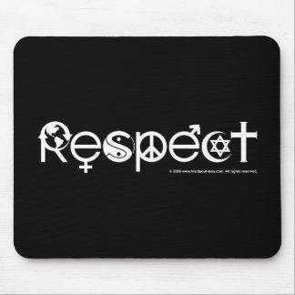 Respekt-Mutter-Erde - recyceln Sie retten den Mousepad
