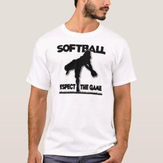Respekt, werfend, Schwarzes T-Shirt