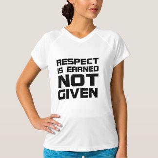 Respekt wird die Fitness-Shirt der T-Shirt