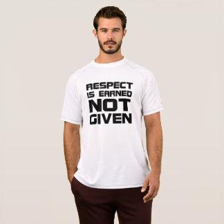 Respekt wird Fitness-Shirt erworben T-Shirt