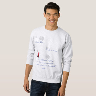 Respektieren Sie das Schneeflocken-Shirt Sweatshirt