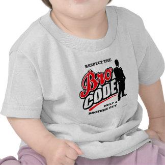 Respektieren Sie den Bro Code Shirt