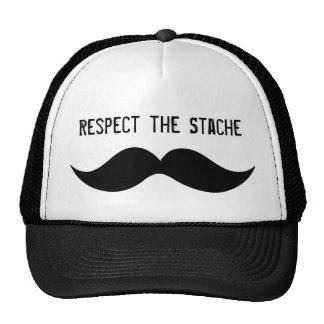 Respektieren Sie den Stache Hut Cap