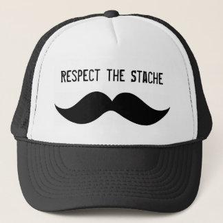 Respektieren Sie den Stache Hut Truckerkappe