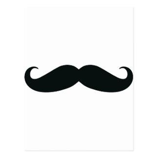 Respektieren Sie den Stache Schnurrbart Postkarte