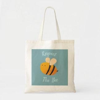 Respektieren Sie die Bienen-Tasche Tragetasche