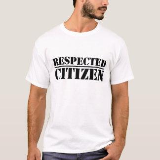 Respektierter Bürger - T - Shirt (weiß)