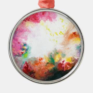 Reste und Wiedergeburt Silbernes Ornament