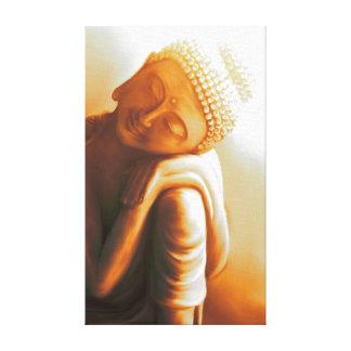 resting Buddha II Leinwanddruck